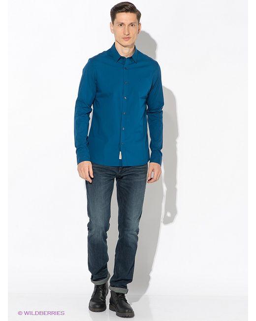 Calvin Klein   Мужские Синие Рубашки