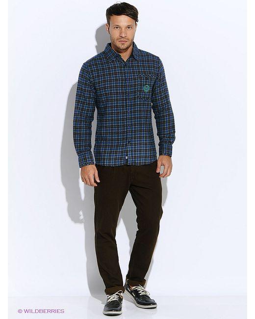 Mavango   Мужские Синие Рубашки