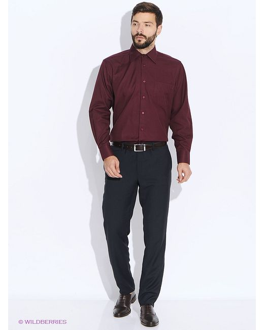 Conti Uomo   Мужские Красные Рубашки
