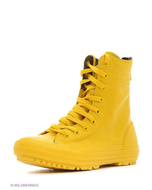 Converse   Мужские Жёлтые Кеды