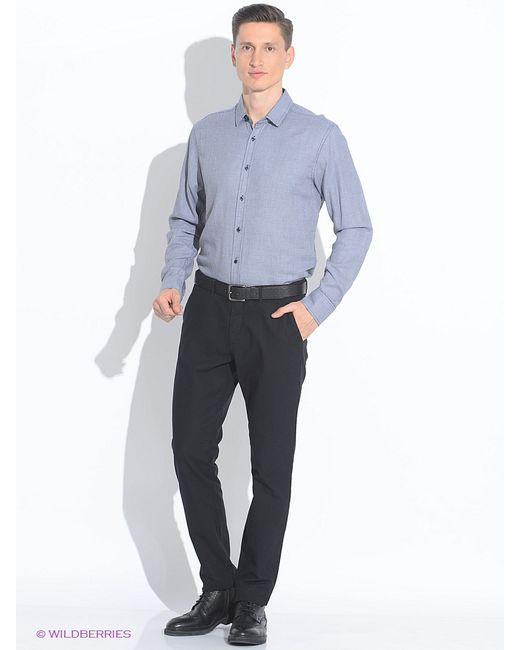 Top Secret   Мужские Чёрные Рубашки
