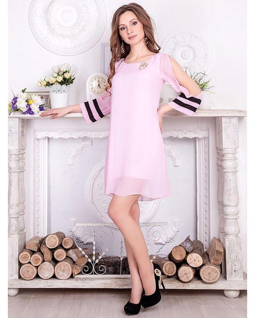 Vision Fashion Srore | Женские Розовые Платья