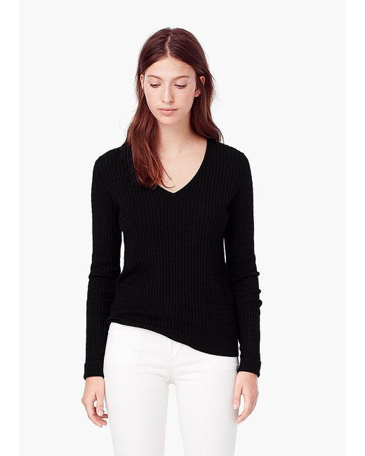Mango   Женские Чёрные Пуловеры