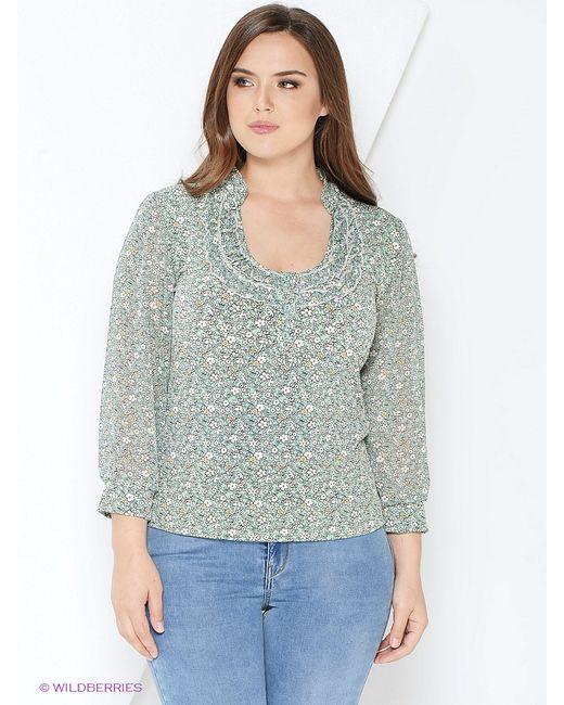 Milana Style   Женские Зелёные Блузки