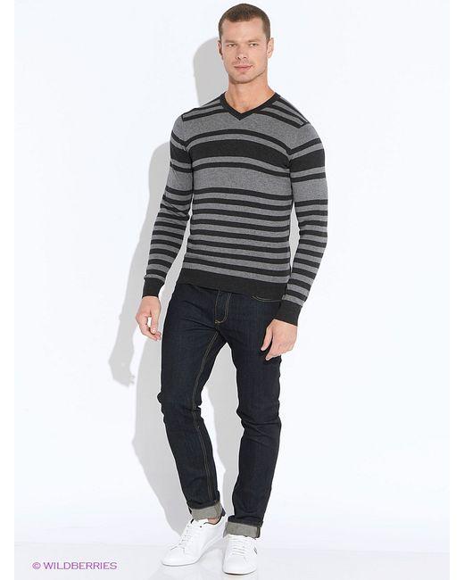 Oodji | Мужские Серые Пуловеры