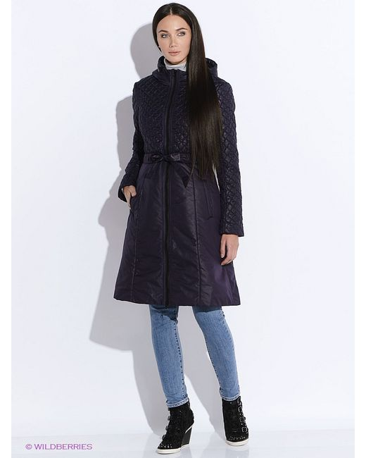 Doctor E   Женское Фиолетовое Пальто