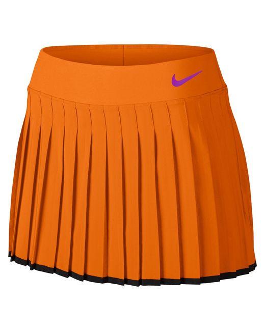 Nike | Женская Оранжевая Юбка Victory Skirt