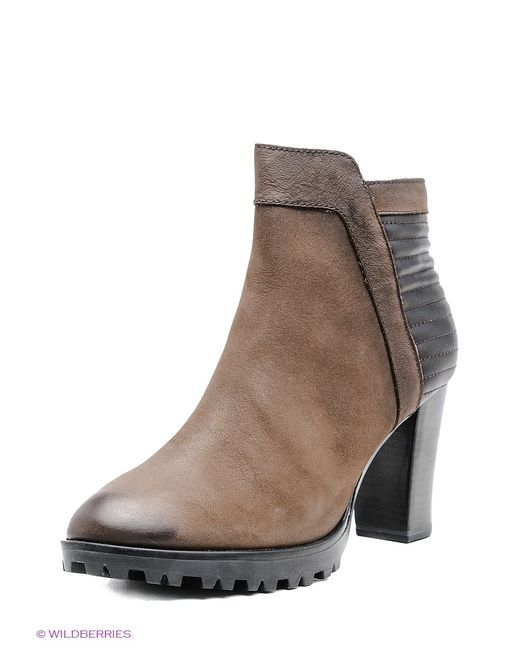 Caprice | Женские Бежевые Ботинки