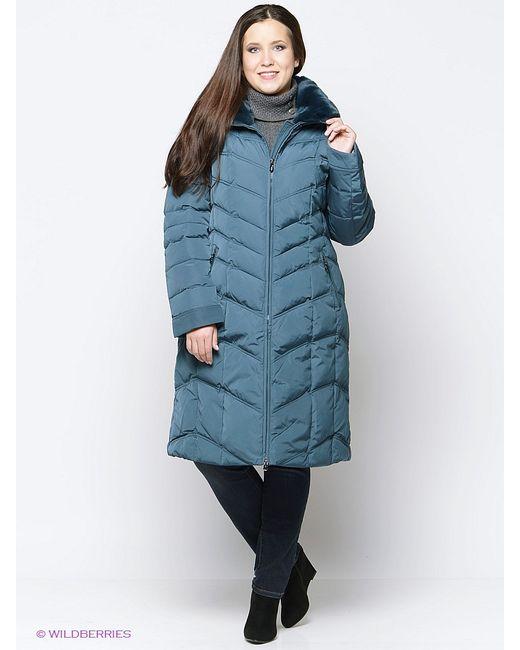 Vlasta | Женское Зелёное Пальто