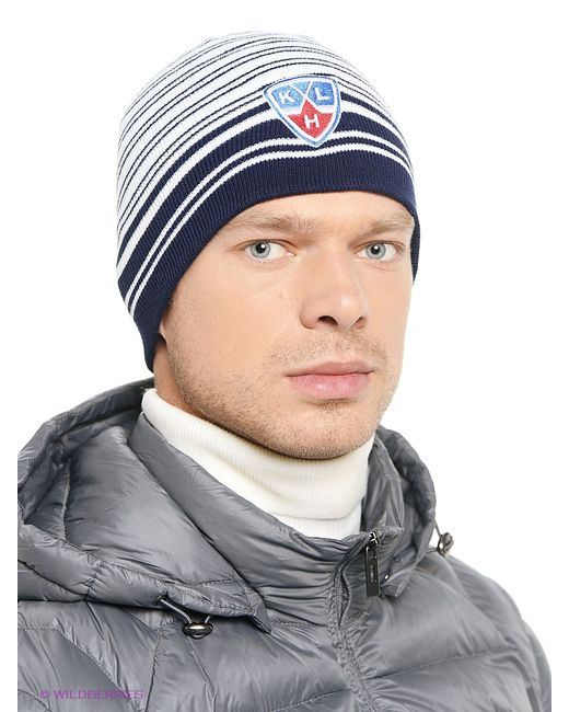 Atributika & Club™   Мужские Синие Шапки Atributika Club