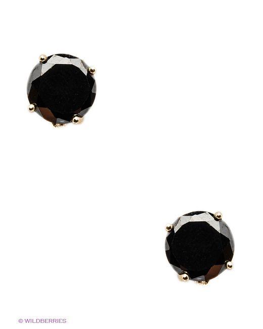 Happy Garnets | Женские Чёрные Серьги