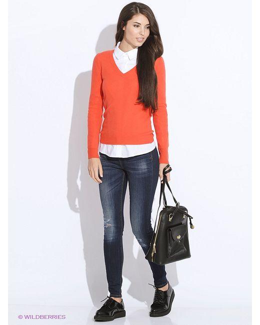 United Colors Of Benetton   Женские Красные Пуловеры