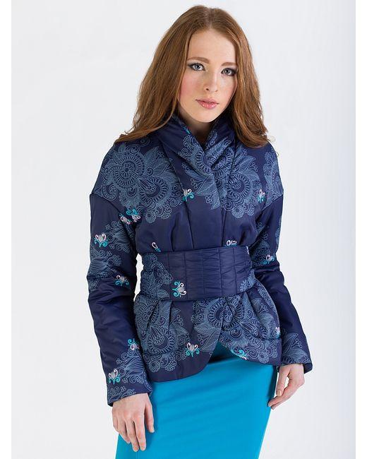 Анна Чапман   Женские Синие Куртки