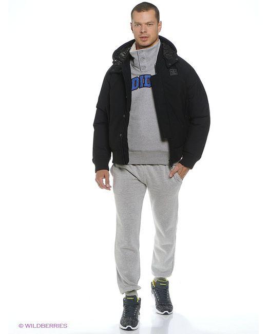 Adidas | Мужские Чёрные Пуховики