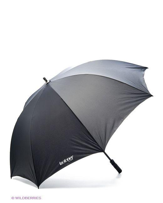 Isotoner   Мужские Чёрные Зонты