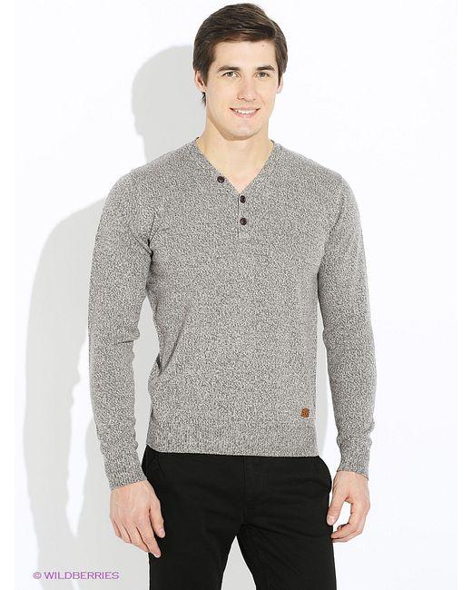 MeZaGuz | Мужские Серые Пуловеры