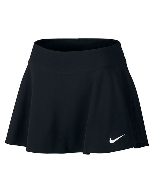 Nike | Женская Чёрная Юбка W Nkct Flx Pure Skirt Flouncy