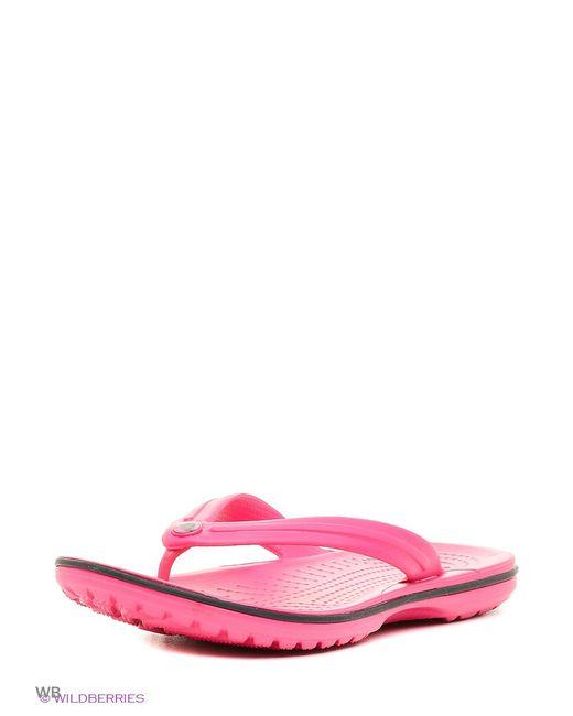 Crocs | Женские Розовые Пантолеты