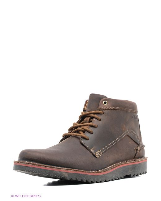 Clarks | Мужские Коричневые Ботинки