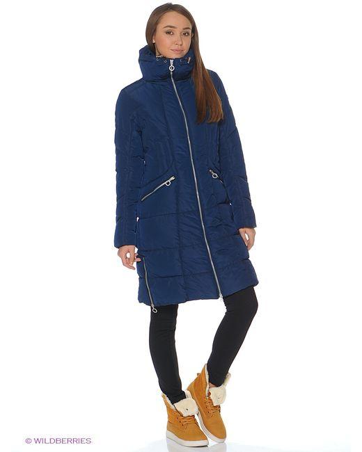 Luhta | Женское Синее Пальто