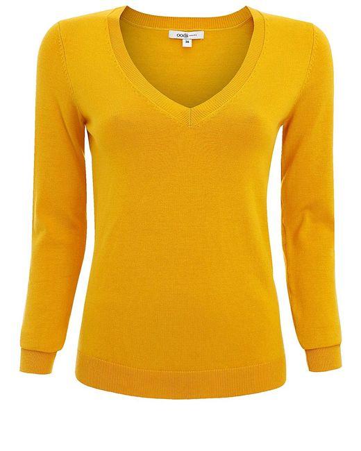 Oodji | Женские Жёлтые Пуловеры