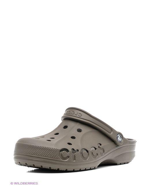 Crocs | Мужское Коричневое Сабо