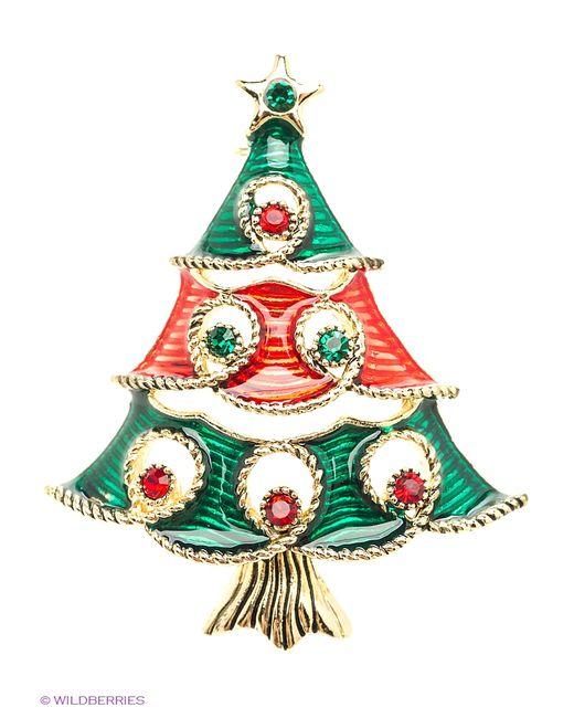 Lovely Jewelry | Женские Зелёные Броши