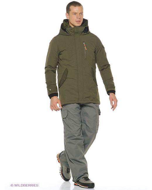 Luhta | Мужское Зелёное Пальто