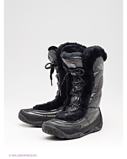 The North Face | Женские Чёрные Полусапожки