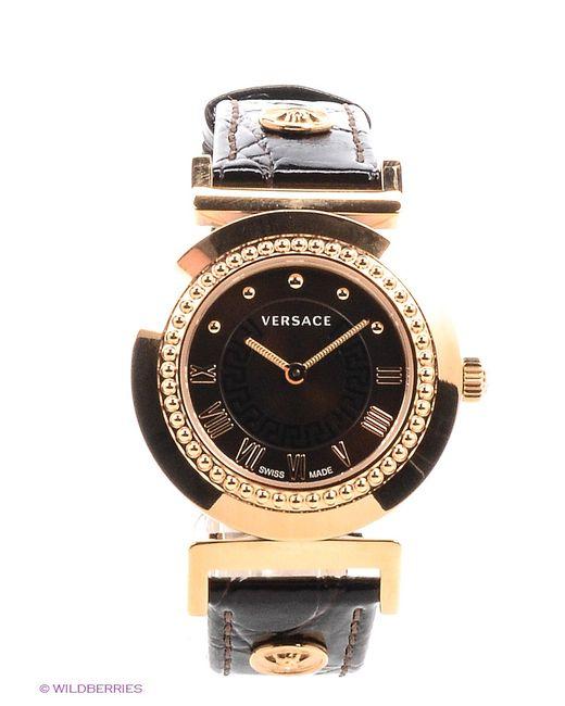 Versace | Женские Коричневые Часы