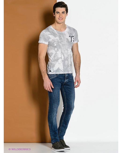 Pepe Jeans London | Мужские Серые Футболки