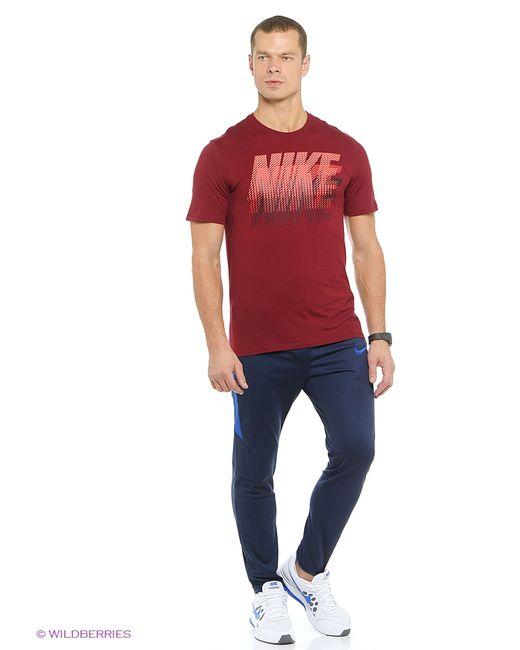 Nike   Мужская Красная Футболка