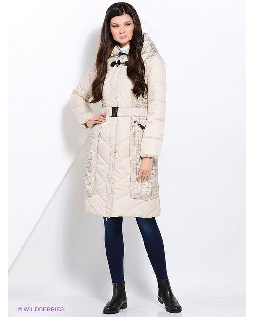 DizzyWay   Женское Молочное Пальто