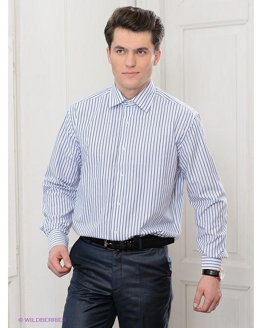 Maestro   Мужские Синие Рубашки