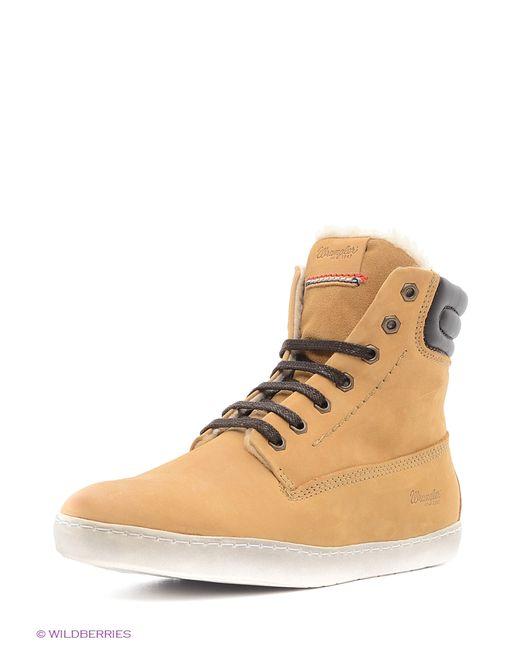 Wrangler | Женские Жёлтые Ботинки