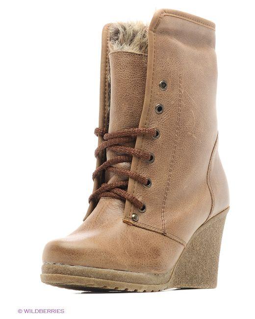 ЭГО | Женские Коричневые Ботинки