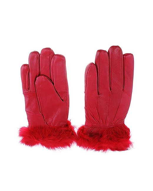 Migura | Женские Красные Перчатки
