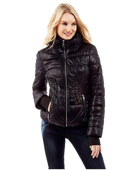 Guess   Женские Чёрные Куртки