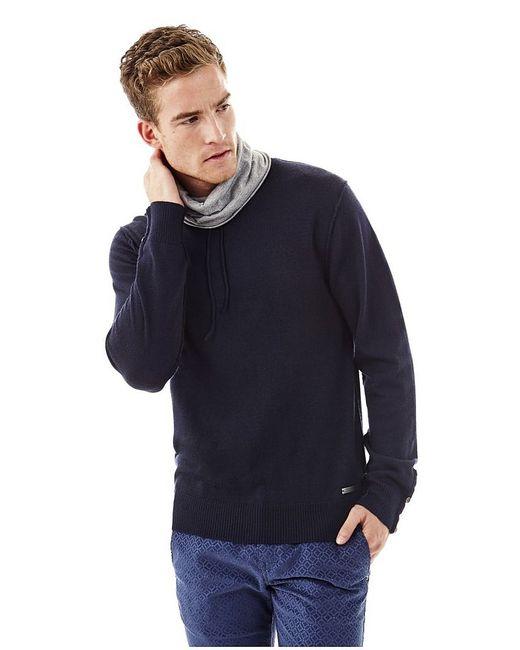 Guess | Мужские Синие Пуловеры