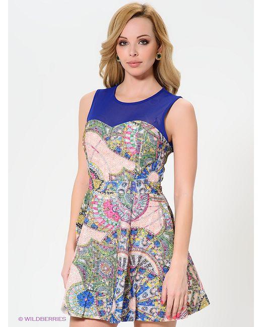 WOW Couture   Женские Синие Платья