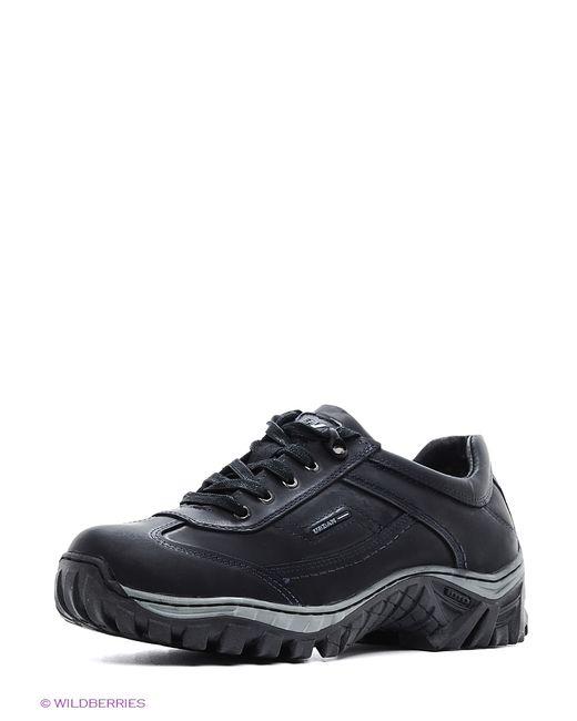 Walrus   Мужские Чёрные Ботинки