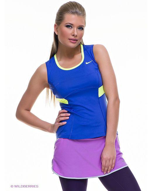 Nike   Женские Синие Топы