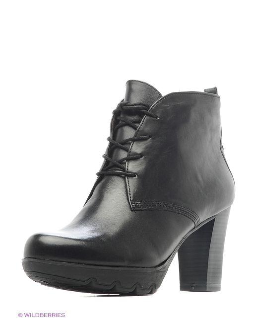 Tamaris | Женские Чёрные Ботинки