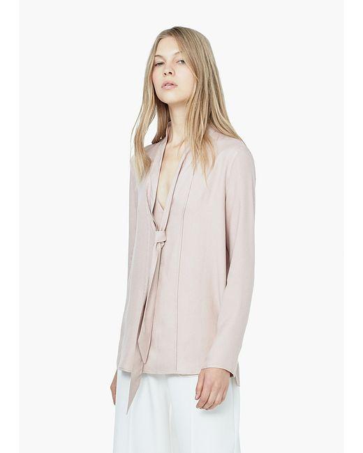 Mango | Женские Розовые Блузки