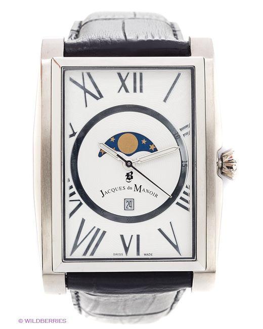 Jacques du Manoir | Мужские Серебристые Часы