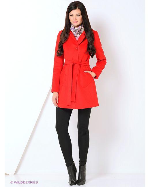 Shokolat   Женское Красное Пальто