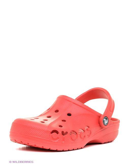 Crocs   Мужское Красное Сабо