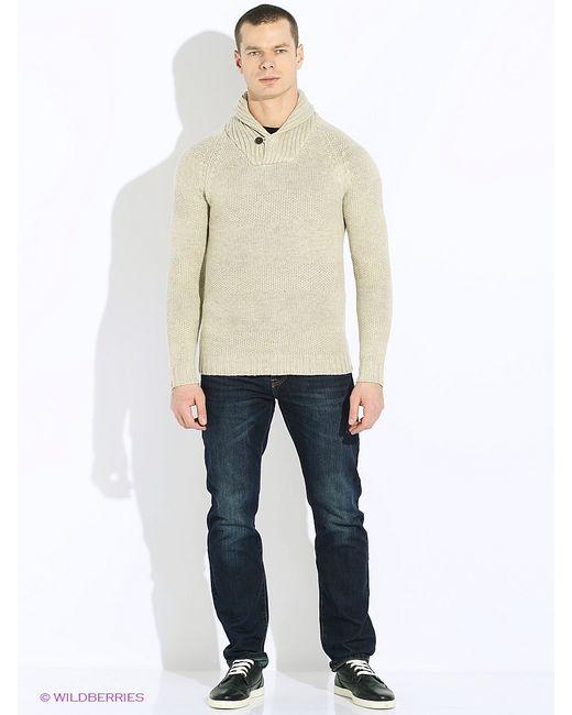 Oodji | Мужские Бежевые Пуловеры