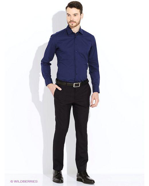Alfred Muller   Мужские Синие Рубашки