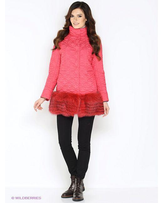 Lanicka | Женское Розовое Пальто
